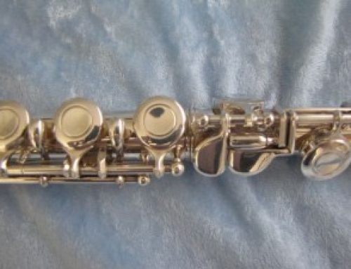 Putting the whole flute together